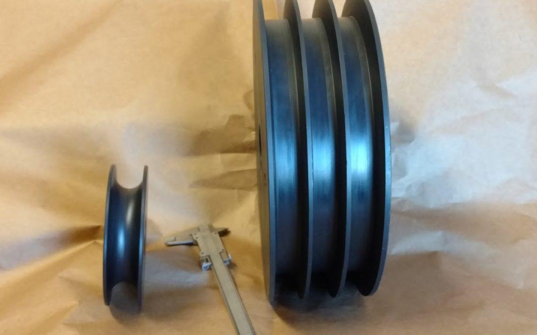 Custom Machining for Nylon Sheaves