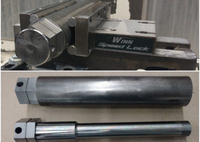 """2-1/2"""" Hex shaft - 1141 steel"""
