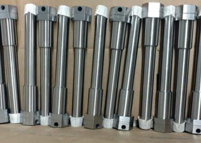 "2-1/2"" Hex shafts"
