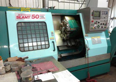 Methods Slant 50 CNC lathe with 10 inch capacity