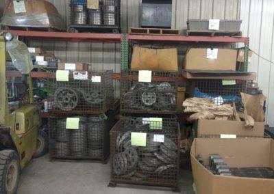 Casting Storage area