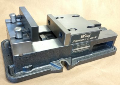 Winn Speed Lock Vise with Jaw being put into place