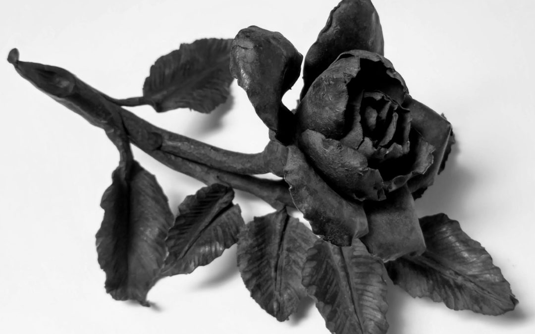 What This Rose Says About Metalworking's Past and Future